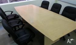 Office chairs, used but in great condition. / Black /