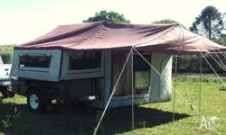 2008 Offroad Camper Trailer. Tent size 15x18ft. King