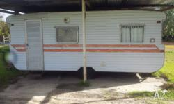 Old caravan. Fairly good inside. Needs some work. It's