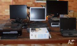 Old computers and accessories, all working. Must take