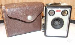 It is in good condition except the leather box needs re
