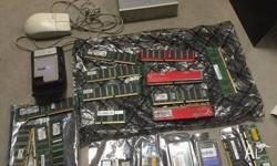 As per pics, lots of old parts, Computer parts, take
