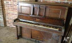 Very old piano for free. Pick up only.