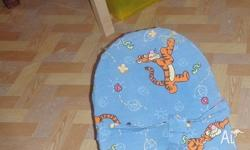 Old style baby bouncer, with removable (washable)