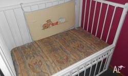 old style cot well used condition (could use a fresh