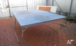FREE Old table tennis table. We have had many games on