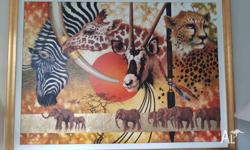 "Absolutely beautiful Original Olga Garner ""African"""