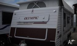 Olympic Caravan Series 2000 Air Conditioned 17'7x7'6,
