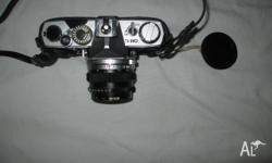 Olympus OM1n camera. Bought new 1980. Includes Tamron