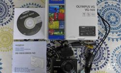 Olympus VG-160 Compact Digital Zoom Camera. As-New
