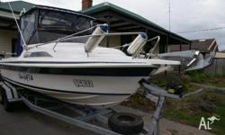 Haines Hunter OMC 580SF very rare hull with full