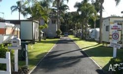 For sale - onsite caravan situated at Toowoon Bay