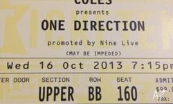 selling this ticket due to a friend backing out.
