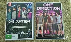 ONE DIRECTION DVD's .. 2 - in as new condition ... Pic