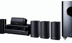 Onkyo home theatre - only speakers and woofer for