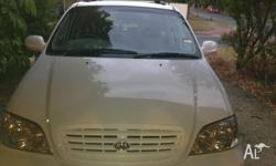 Kia carnival 7 people mover it drive good no any