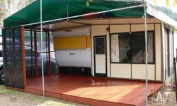 Millard Onsite Caravan with hard annex For Sale at
