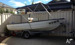 Great little 12ft Savage aluminium boat. kept clean and