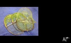 For Sale - 3 Opera House Yabby Nets. Used but good