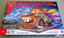 Operation - Cars 2 Skill Board Game 2011 (Complete)