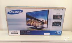 "OPPORTUNITY Samsung 40"" 303C12 ""like new"" HALF PRICE"