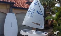 AUS 1456 international Optimist dinghy for sale. First