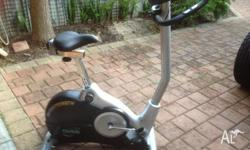 Orbit exercise bike cardio strength magnetic model