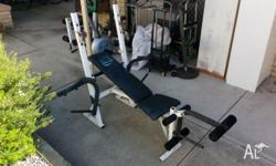 Orbit Fitness Bench Press with Arm & Leg Curl