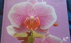 Two orchid books for sale. $15 each. Pick up please in