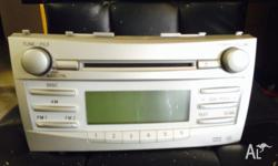 Up for sale is original car stereo for toyota camry