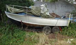 This was my dad's boat he has been gone many years and