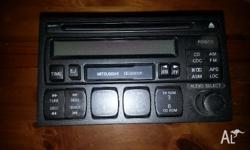 Original Mitsubishi Stereo taken out from a 1999 Magna