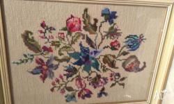 This is a spectacular example of vintage needlework.
