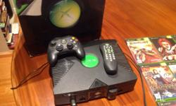 All in perfect working order original Xbox with 12