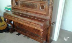 Ornate Hermann Kohl German Piano,Can arrange transport