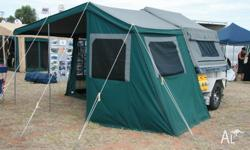 DELUXE manufactured in Perth by Outback Campers. all