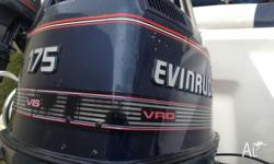 Outboard only for sale : Evinrude 175hp 1995 Long