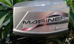 outboard motor 30 hp mariner 2002 in great condition