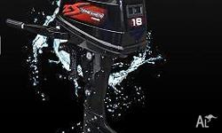 Outboard Motors - 18 HP 2-Stroke Short Shaft $1699 FREE