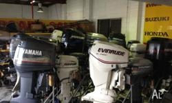 Biggest range of quality secondhand outboard motors.