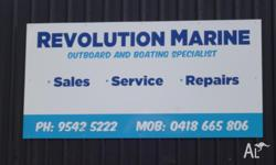 Revolution Marine repair and service all makes and