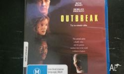 OUtbreak starring dustin hoffman, rene russo and morgan