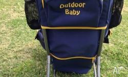 A sturdy, well-made baby/toddler carrier backpack with