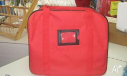 STRONG STURDY OVERLOCKER CARRY BAG SPECIAL PRICE $39