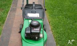 Made in Australia!! Quality Mower and Catcher - Name