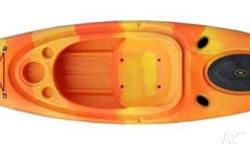 Recreational sit in kayak with storage compartment and
