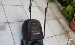 Ozito Eco-320 Electric Lawnmower Sold to us along with