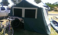 Oztrail 6 camper with full annexe 2011 trailer world