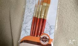 Purchase a set of Paint Brush Taklon get a FREE