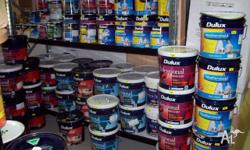 Paint mainly duluxweathershield in 1 2 4 10 15ltr tins